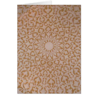 Islamic Art and Architecture Card