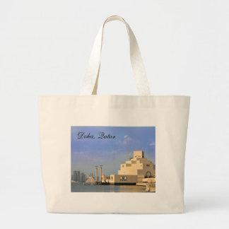 Islamic Art Museum, Doha, Qatar Large Tote Bag
