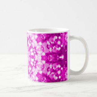 Islamic art pink geometric coffee mug