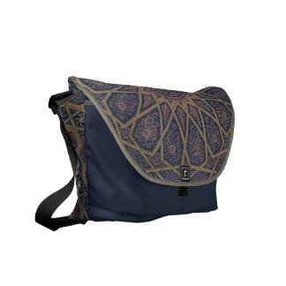 Islamic Art Print Messenger Bag