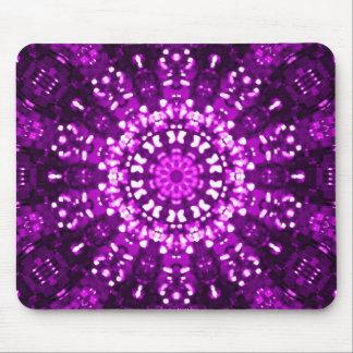 Islamic art purple geometric mouse pad