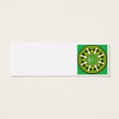 Islamic Art Tessellation  Khurasan Mini Business Card at Zazzle