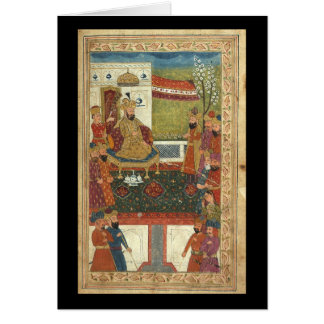 Islamic Art--Very Old Images of Islam Greeting Card