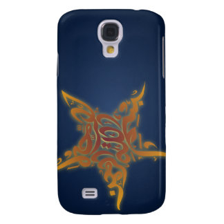 Islamic bismillah calligraphy star Arabic Galaxy S4 Cover
