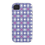 Islamic blue pattern vol 1 iPhone 4 cover