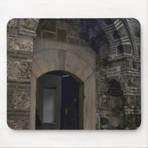 Islamic Building And Doors Mouse Pad