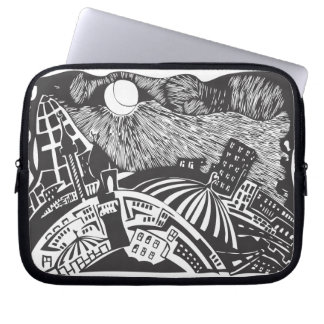 islamic city Alley Laptop Sleeve
