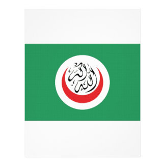 """Islamic Conference Flag 8.5"""" X 11"""" Flyer"""
