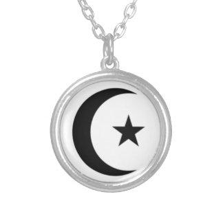 Islamic Creseant Necklace Pendant