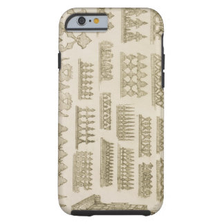 Islamic designs for cornice, balcony and mashrabiy tough iPhone 6 case