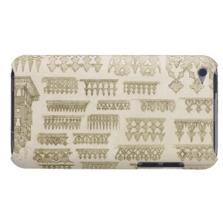 Islamic designs for cornice, balcony and mashrabiy Case-Mate iPod touch case