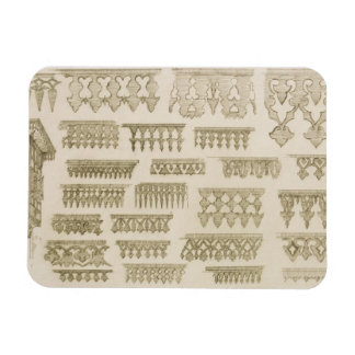 Islamic designs for cornice, balcony and mashrabiy vinyl magnet
