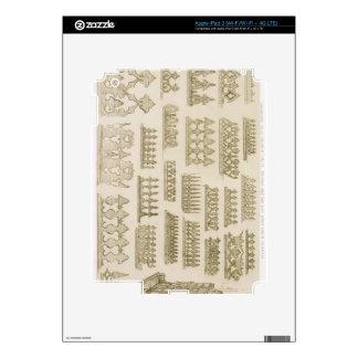 Islamic designs for cornice, balcony and mashrabiy skin for iPad 3