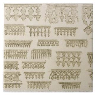 Islamic designs for cornice, balcony and mashrabiy ceramic tile