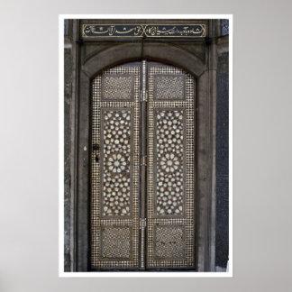 Islamic Doors Poster