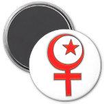 Islamic feminism... refrigerator magnet