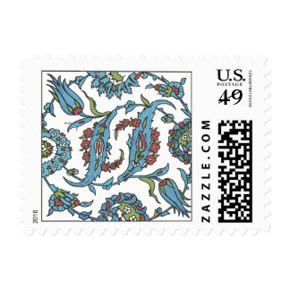Islamic Floral Ceramic Tile #1 Stamp