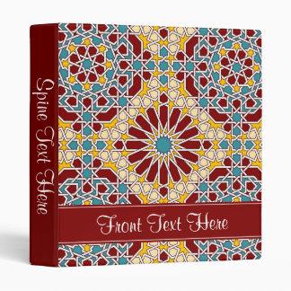 Islamic geometric pattern binder