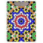 Islamic geometric pattern clipboard