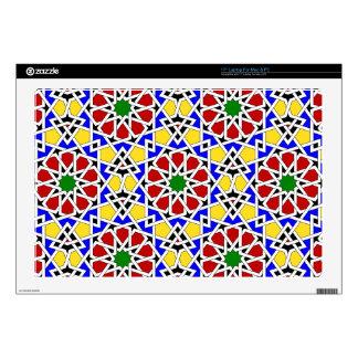 Islamic geometric pattern computer skin laptop decals