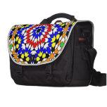Islamic geometric pattern laptop bag