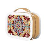 Islamic geometric pattern lunch boxes