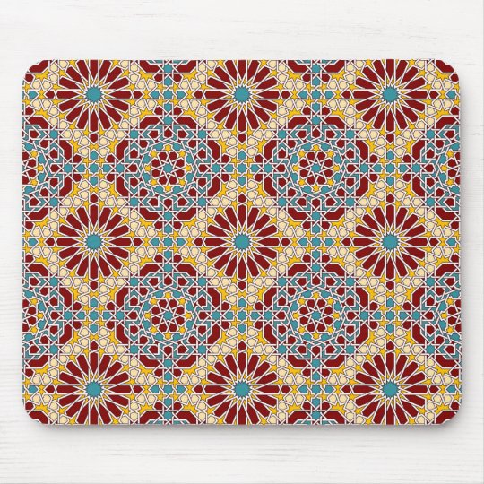 Islamic geometric pattern Mousepad