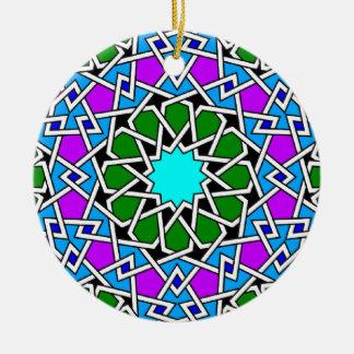 Islamic geometric pattern ornament