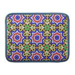 Islamic geometric pattern rickshaw sleeve MacBook sleeves