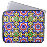 Islamic geometric pattern rickshaw sleeve computer sleeves