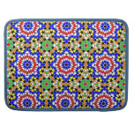 Islamic geometric pattern rickshaw sleeve sleeve for MacBooks