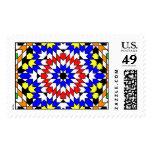 Islamic geometric patterns postage
