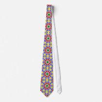 Islamic geometric patterns tie