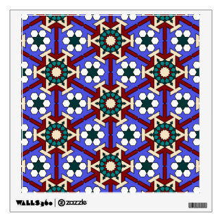 Islamic geometric patterns wall decal