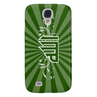 Islamic green retro print calligraphy Allah case Galaxy S4 Cover