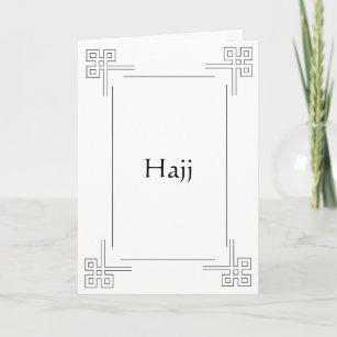 Islamic Greeting Card Hajj
