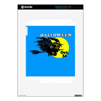Islamic Halloween Witch Skins For iPad 2