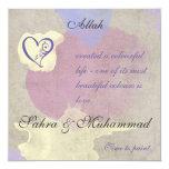 Islamic invitation - Watercolor painting of love