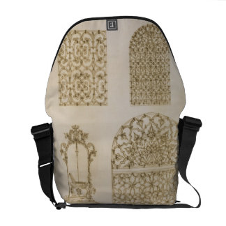 Islamic ironwork grills for windows and wells, fro courier bag