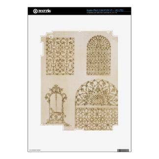 Islamic ironwork grills for windows and wells, fro iPad 3 skin
