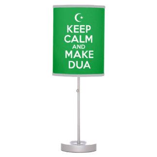 Islamic Keep Calm Lamp