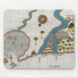 Islamic Map From Antiquity Mouse Pad