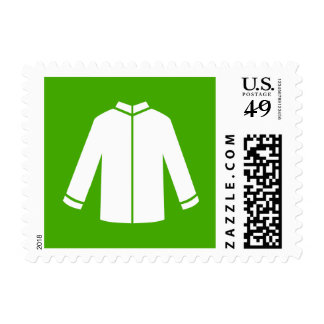 Islamic Men's Tunic Muslim Green Icon Stamp