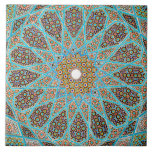 Islamic mosaic design Ceramic Photo Tile