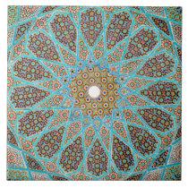 Islamic mosaic design Ceramic Photo Tile