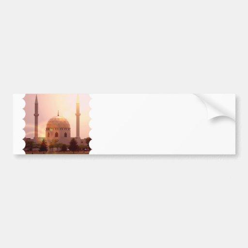 Islamic Mosque Bumper Sticker