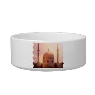 Islamic Mosque Pet Bowl Cat Bowl