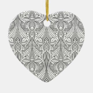 Islamic Motif Backgorund Christmas Ornaments