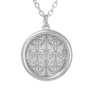 Islamic Motif Backgorund Necklace