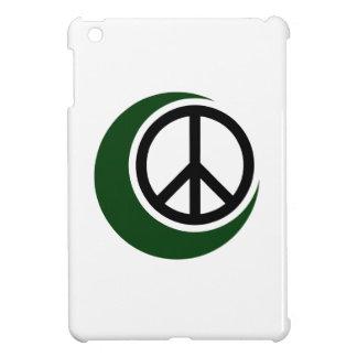 Islamic Muslim Symbol with Peace Sign iPad Mini Cases